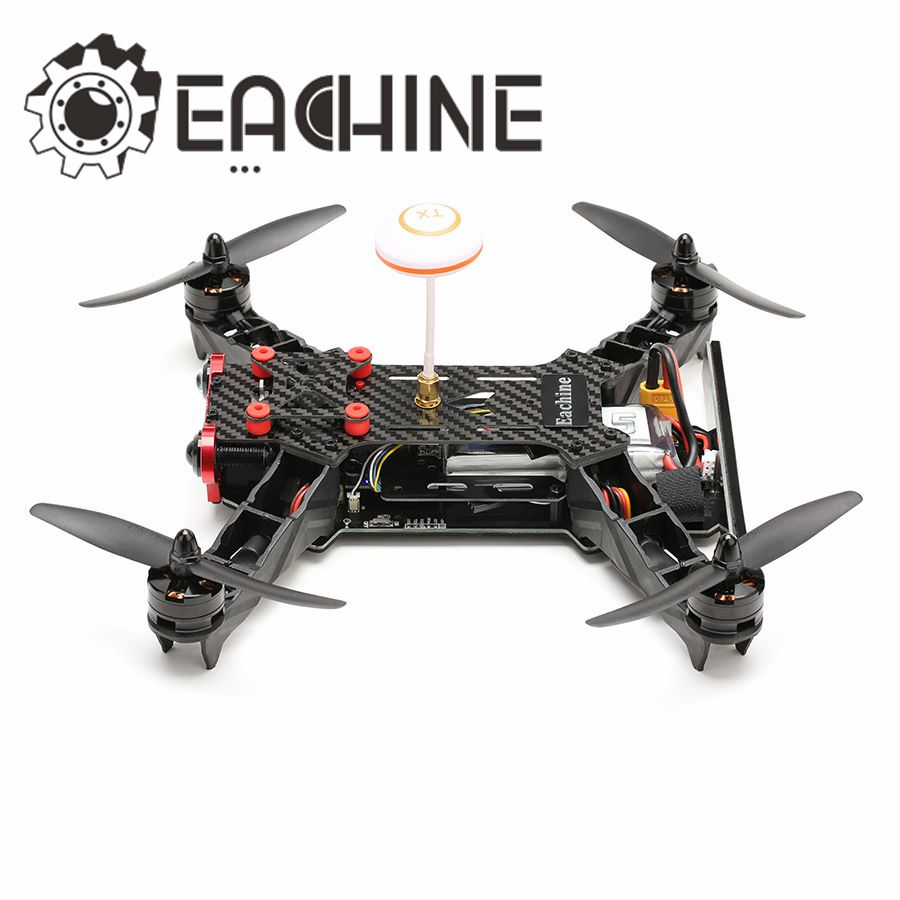 Eachine Racer 250 FPV Drone Built in 5.8G Transmitter OSD With HD Camera BNF Version