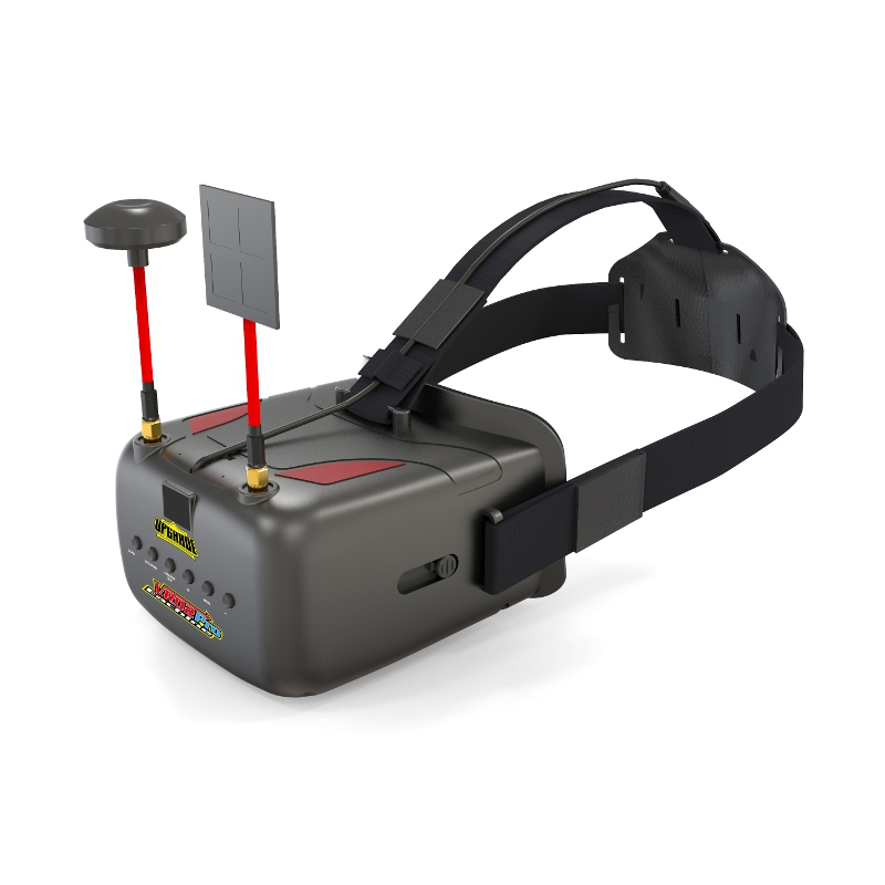 Eachine VR D2 Pro Upgraded 5 Inches 800*480 40CH 5.8G Diversity FPV Goggles with DVR Lens Adjustable