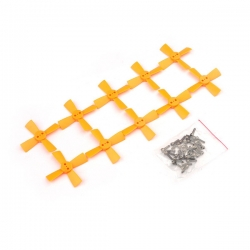 5 Pairs Eachine 1535 38mm 1.5mm Mount Hole 4-Blade Propeller CW & CCW for Aurora 68 Racing Drone