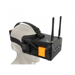 Eachine VR011 5 Inches 800x480 Diversity FPV Goggles 5.8G 40CH Raceband Build In Battery without PRO DVR
