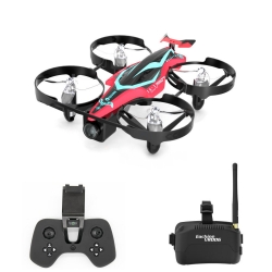 Eachine E013 Plus Micro FPV Racer Drone with 5.8G 25mW 1000TVL VTX Camera FPV Googles