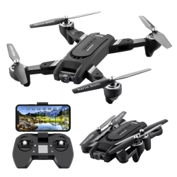 Eachine EG16 WINGGOD GPS 5G WiFi FPV with 4K HD Camera Optical Flow Positioning Dual Lens RC Drone Quadcopter RTF - Three Batteries