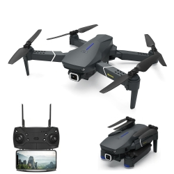 Eachine E520 WIFI FPV With 4K/1080P HD Wide Angle Camera High Hold Mode Foldable RC Drone Quadcopter RTF - 4K HD Wide Angle Three Batteries