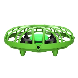 Eachine E111 Mini Infrared Sensing Control Hand Operated Altitude Hold Mode RC Drone Quadcopter BNF - Blue One Battery