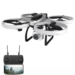 Eachine E020S GPS WIFI FPV With 4K/1080P HD Camera Smart Flight LED RC Drone Quadcopter RTF - 5G WiFi 4K HD Three Batteries