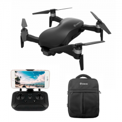 Eachine EX4 5G WIFI 1.2KM FPV GPS With 4K HD Camera 3-Axis Stable Gimbal 25 Mins Flight Time RC Drone Quadcopter RTF - Black With Storage Bag One Battery