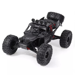 Eachine EAT04 1/12 2.4G 4WD Brush Rc Car Metal Body Shell Desert Off-road Truck RTR Toy Black - 01