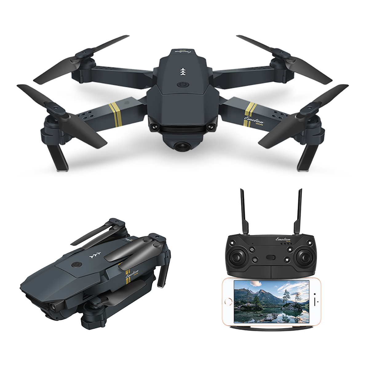 Reasonable Drone X Pro 1080p Hd Camera Wifi App Fpv Foldable Wide-angle 4* Batteries Buy One Get One Free Rc Model Vehicles & Kits