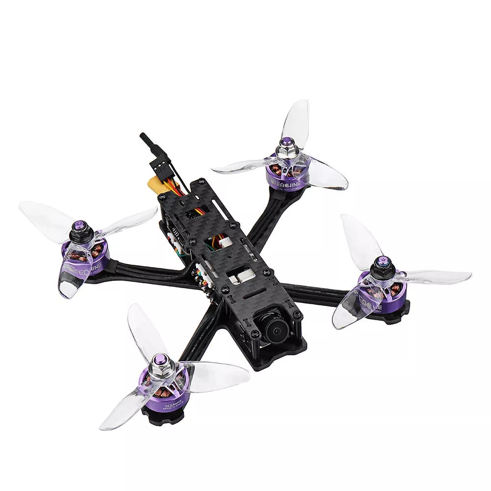 Eachine Wizard X140HV 140mm 3 Inch 3-6S RC FPV Racing Drone