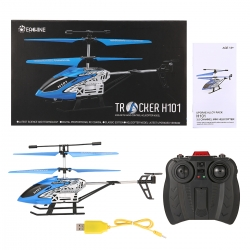 EACHINE Tracker H101 3.5Channels RC Mini Helicopter With Gyro Remote Controlled Rechargeable Airplane Drone for Beginner RTF
