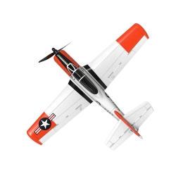 Eachine Mini T-28 Trojan EPP 400mm Wingspan 2.4G 6-Axis Gyro RC Airplane Trainer Fixed Wing RTF One Key Return for Beginner Two Batterries/Three Batterries - Two Batteries