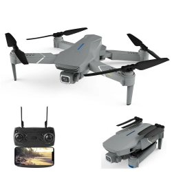 Eachine E520S PRO GPS WIFI FPV With 4K HD Camera Adjustment Angle 16mins Flight Time Foldable RC Drone Quadcopter RTF - Without Storage Bag 2.4G WiFi 4K HD One Battery