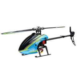Eachine E160 6CH Brushless 3D6G System Flybarless RC Helicopter BNF Compatible with FUTABA\' S-FHSS - BNF(1 Battery)