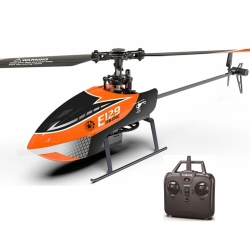 Eachine E129 2.4G 4CH 6-Axis Gyro Altitude Hold Flybarless RC Helicopter RTF - Mode 2 (Left Hand Throttle) RTF