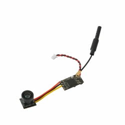 Eachine TX06 Split FPV Camera Transmitter Micro 700TVL 5.8Ghz 40CH 25mW 1.8g AIO VTX-CAM for RC Drone Tiny Whoop Mobula7 - NTSC 120 degree lens