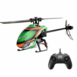 Eachine E130 2.4G 4CH 6-Axis Gyro Altitude Hold Flybarless RC Helicopter RTF - Mode 2 (Left Hand Throttle) RTF Version