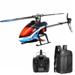 Eachine E160 6CH Dual Brushless 3D6G System Flybarless RC Helicopter RTF with E160 Backpack - RTF 2x Battery Version