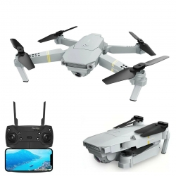 Eachine E58 PRO WIFI FPV With 120° FOV 1080P HD Camera Adjustment Angle High Hold Mode Foldable RC Drone Quadcopter RTF - Without Storage Bag One Battery