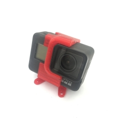 Eachine Tyro129 Spare Part 3D Printed TPU 25 Degree Camera Mount for Gopro 5/6/7 RC Drone FPV Racing - Black