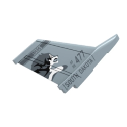 Eachine Mini F16 EPP 400mm Wingspan Fixed Wing Vertical Tail Spare Part for FPV RC Airplane